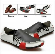 2014 Men's Leisure Casual boat Shoes Genuine Leather Driving Moccasins Slip On