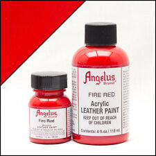 Angelus Brand Acrylic Leather Paint Waterproof, 4oz, *4 New Colors*
