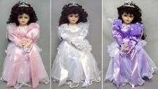 1 Pc - 16 Inches Quinceanera Porcelain Doll - Sweet 15 Doll ( # EQDoll16)