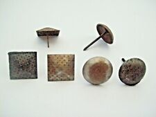 LARGE DECORATIVE GATE  DOOR KNOCK IN STUDS WOOD CRAFTS NAIL STUDS ANTIQUE
