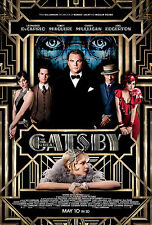 THE GREAT GATSBY Movie POSTER Leonard DiCaprio Titanic