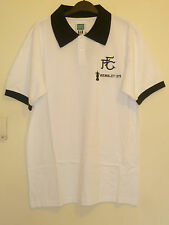 Bnwt Fulham Home Short Sleeved Retro Football Shirt 1975 FA Cup Final