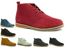 MENS SUEDE LEATHER LACE UP DESERT HIGH QUALITY DESERT BOOT UK SIZES6 7 8 9 10 11
