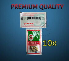SINGER DOMESTIC SEWING MACHINES NEEDLES - SIZES 16-18 (100/16, 110/18)
