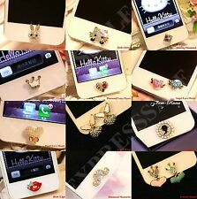 3D Home Button Sticker For iPhone4,4S,5,5c,5s,6,iPad2,3,4 Mini,iTouch--US Seller