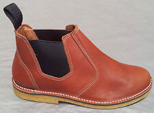 SAHARA Desert Boots Suede Leather Ankle Boots Shoes sizes 3 - 12 Ladies Mens
