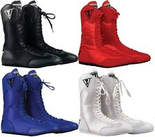 Title High Top Boxing Shoes Boots Training Equipment Kickboxing Supply Gear