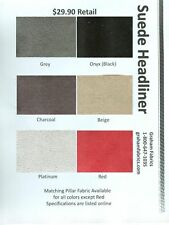 """Suede Headliner Fabric Without The Foam 60"""" Width - Sold by the Yard"""