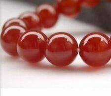 4mm-12mm Natural Carnelian Red Ruby Round Loose Beads Gemstones 15''