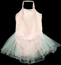 Wholesale - 6 Pcs Girls Dance Wear - Leotard With Tutu Skirt - Pink  (# EDW-L1P)