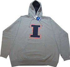 Illinois Fighting Illini Hoodie Sweatshirt Big Tall NWT