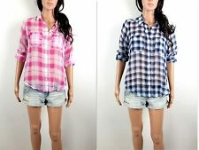 NWT HOLLISTER Women's Sheer Shirt Pacific Coast By Abercrombie