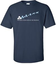 Aéroport International de Genève Cool Logo Swiss Airport T-Shirt