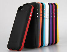 2200mAh Portable Charger Backup Battery Case Fully chargge iPhone 5 5s iOS 7+