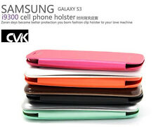 Ultra Thin Flip case for Samsung Galaxy S3 i9300 Screen Protector free shipping