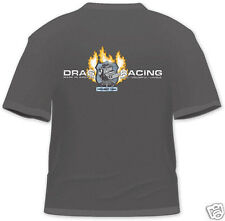 """Project 1320 """"New Design"""" Charcoal T-Shirt - Drag Racing - Made in America"""