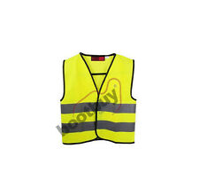 Childrens Kids Hi Vis Vests with Horizontal Reflective Bands - Sizes from 4 - 12