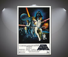 Star Wars Vintage Movie Poster - A1, A2, A3, A4 sizes