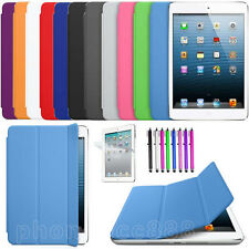 New Slim Magnetic Leather Case Sleep Wake Smart Stand Cover Case for iPad Mini