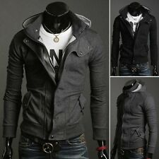 Cool Casual Stylish Mens Slim Fit Hooded Jackets Coat Top Hoodies Outwear S-XL