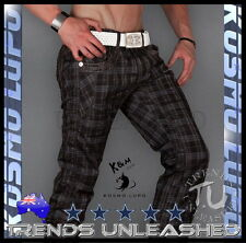 ALL SIZES AVAILABLE Funky Mens Pants Kosmo Lupo VEGAS Size 34 Jeans Man's Blue