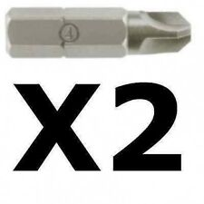NEW 2 X Nintendo DS Wi GBA Gameboy TRI Wing 3point screwdriver bit.size 1,2,3,4