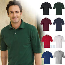 JERZEES Mens 100% Ringspun Cotton Pique Sport Polo Shirt  S-4XL  440MR-440