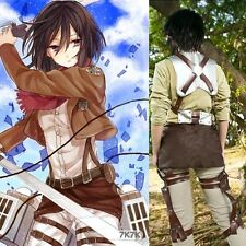 Hot Sell Attack on Titan Mikasa Ackerman Cosplay Whole Body Belts/Harnes System