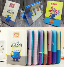 Despicable Me 2 Minions Smart Leather Stand Case Cover Skin For Apple Ipad 2/3/4