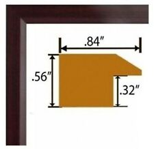 Cherry Real Poplar Wood Picture Frames Poster Frames Single or Lots of 2 or 4