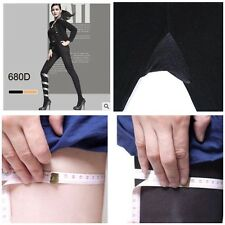 Women Lady Slim Tights 680D Compression Shape Spats Stockings Pantyhose