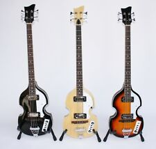 MPM Violinbass Beatlesbass E-Bass in 3 Farben