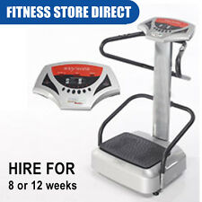 VIBRATION BODY POWER PLATE 4 HIRE / RENTAL 8 or 12 WEEKS - HOME FITNESS EXERCISE