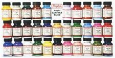 Angelus Acrylic Shoes Boots Handbags Leather Paint/Dye 1 oz/29.5 mL Diff. Colors