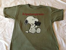 Peanuts Snoopy Hipstergram Instagram Camera Funny Cool Classic Vintage T Shirt