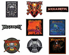 Megadeth Sew On/Iron on Patch/Patches choice of 9 designs NEW OFFICIAL
