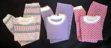 New*GIRLS CUDDL DUDS 2-PC THERMAL SET*Long Sleeve Crew Top & Legging*LONG JOHNS*