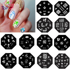 New 60 Designs Nail Art Image Stamp Stamping Plates Manicure Template QA Series