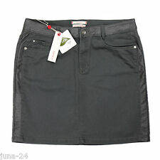 Esprit Denim Stretch- Rock + Leder Gr. 38 40 Neu mit Etikett grau