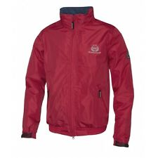Mountain Horse Crew Jacket II - Junior - Royal Red - Small, Medium & Large