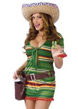Unique Mexican Girl Dress Up Ladies Halloween Costumes for Women [122434]