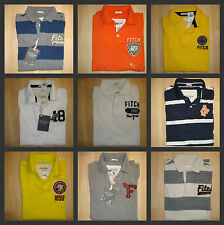 NWT ABERCROMBIE & FITCH BY MEN POLO SHIRT SHORT SLEEVE S, M, L, X-L, XX-L