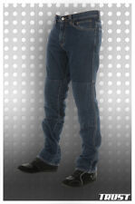 TRUST (made by SARTSO) Mens BLUE motorcycle kevlar jeans BRAND NEW, sizes 28-32