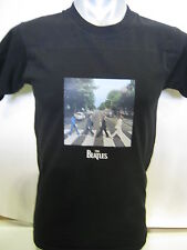 THE BEATLES OFFICIAL MERCHANDISE ABBEY ROAD NAVY KIDS T-SHIRT