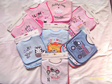 BABY BOY AND GIRL 3 PACK BIB SETS