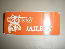 HOOTERS AUTHENTIC UNIFORM NAME TAGS PREVIOUS HOOTERS GIRLS CHOOSE 12 NAMES