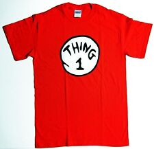 DR. SEUSS SHIRT THING 1 2 3 4 5 6 T-SHIRT INFANT/YOUTH/ADULTee TSHIRT