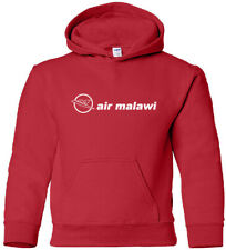 Air Malawi Retro Logo Malawian Airline HOODY