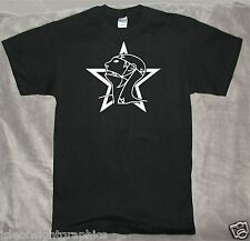 RETRO GOTH SISTERS OF MERCY T-SHIRT YOUR TEXT COLOUR NEW FRUIT OF THE LOOM