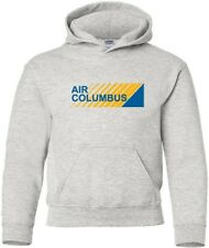 Air Columbus Retro Logo Portugese Airline HOODY